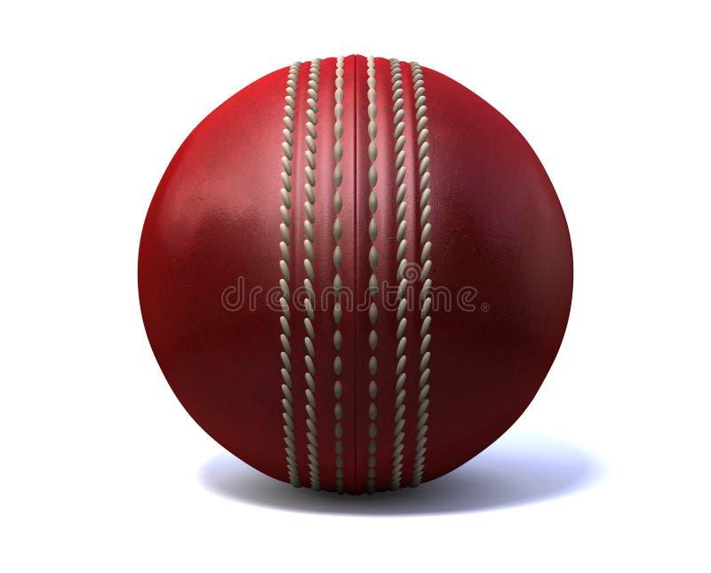 Cricket Ball Front stock photo