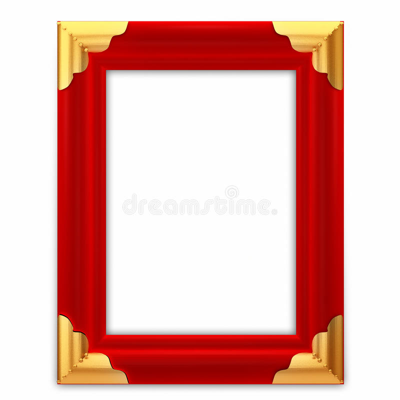 Free Red Leather Picture Frame Royalty Free Stock Images - 20030909
