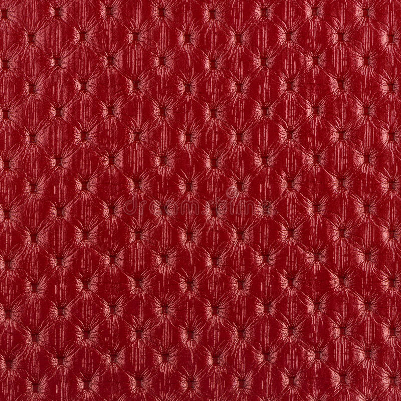Red leather texture closeup. Backgroud stock photos
