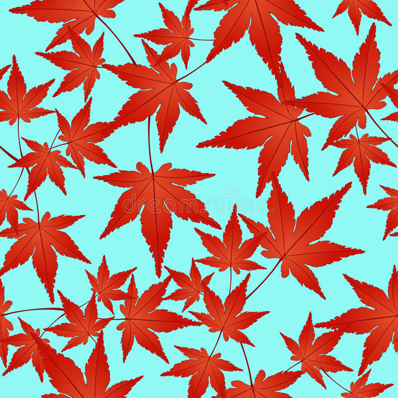red leaves wallpaper pattern - photo #2