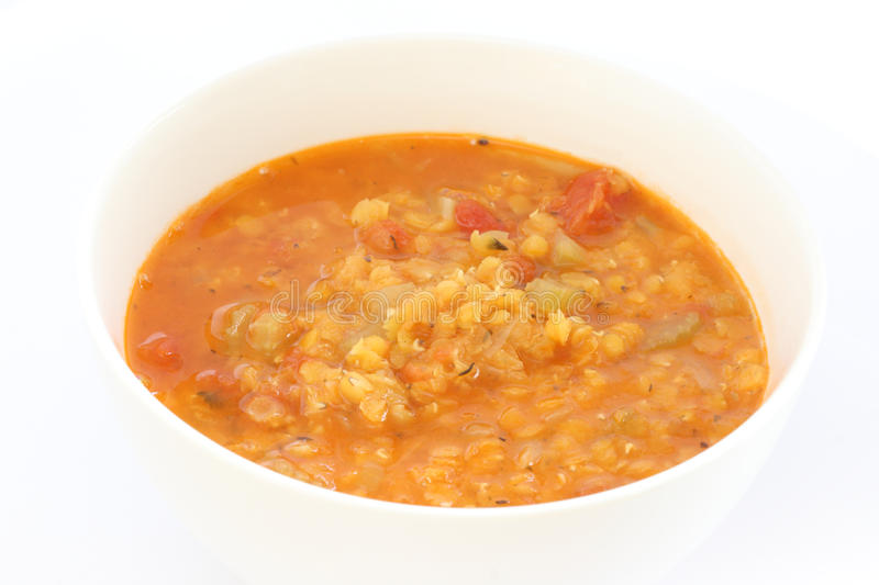 Download Red lentil soup stock image. Image of nobody, closeup - 18945539