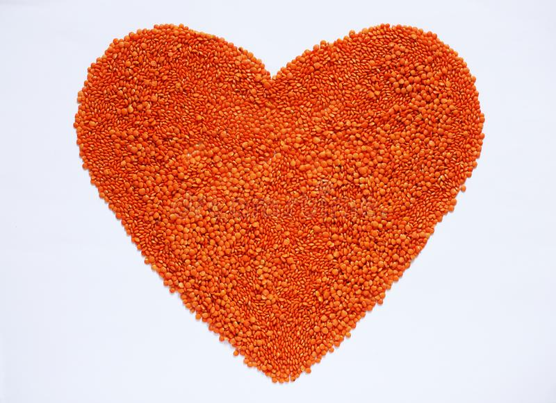 Red Lentils Background Healthy lifestyle stock photos