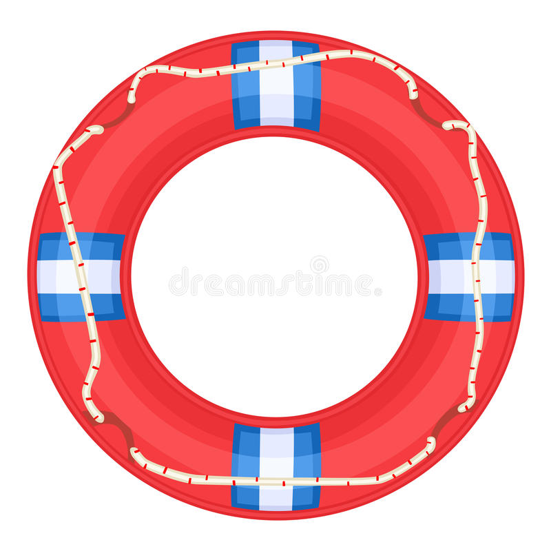 Download Red Life Buoy - Stock Image - Image: 19498891