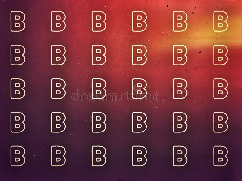 Red light background the letter L in pattern style. Red  light background  letter pat patr patrr patrre pate patee pateee patt patte patter pattern sty styl royalty free illustration