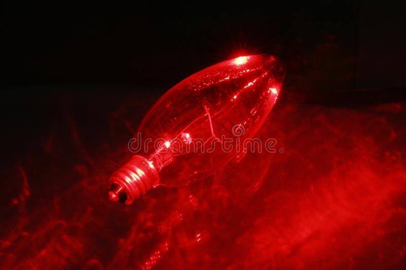 Download Red light blub 3 stock photo. Image of glowing, household - 2067730