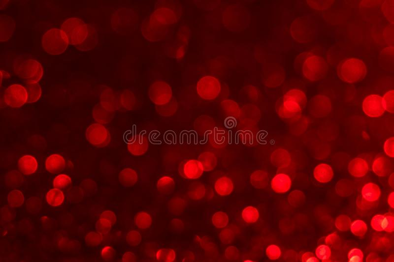 Red light bubbles background. Red bokeh background. Hot colors detail royalty free stock photo
