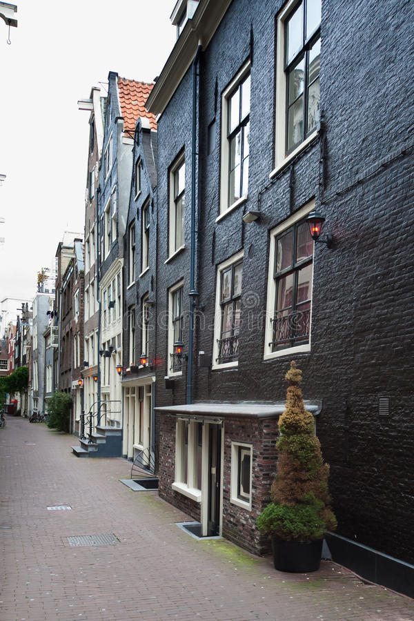 Red Light District during the day