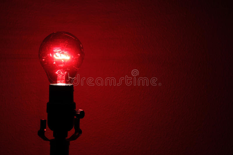 Download Red Lightbulb Royalty Free Stock Photo - Image: 17366735