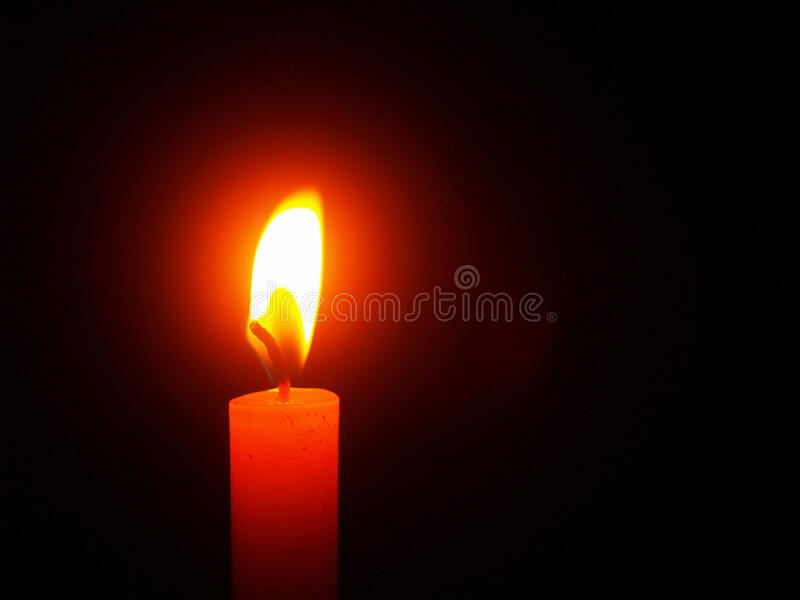 Red Lighted Candle Free Public Domain Cc0 Image