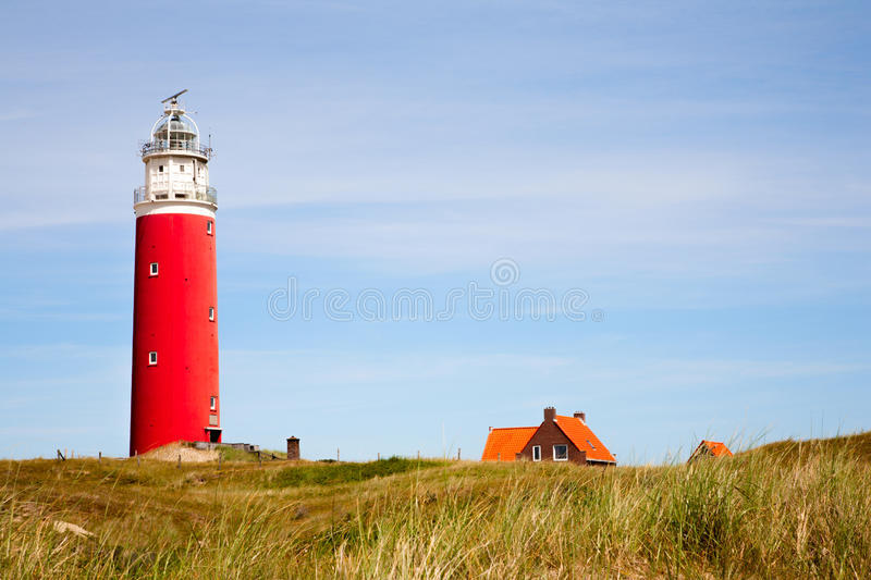 Red Lighthouse stock images