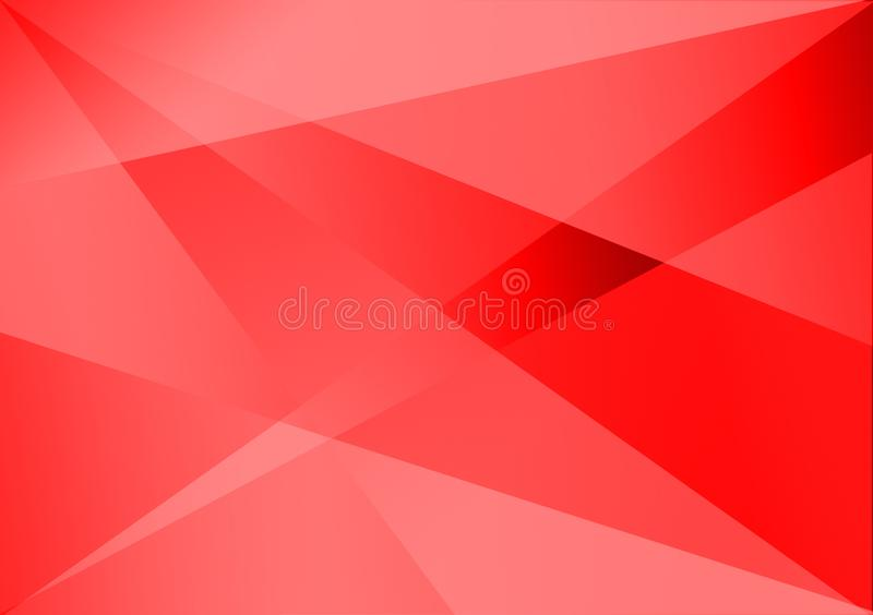 Red linear shape background gradient background. For use with design royalty free stock photo