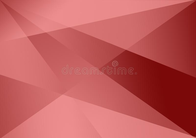 Red linear shape background gradient background. For use with design royalty free stock images