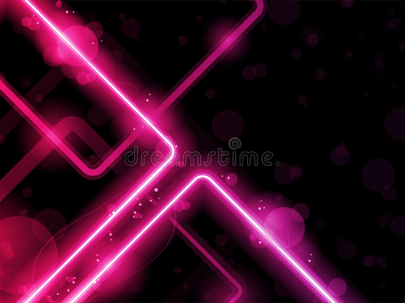 Red Lines Background Neon Laser