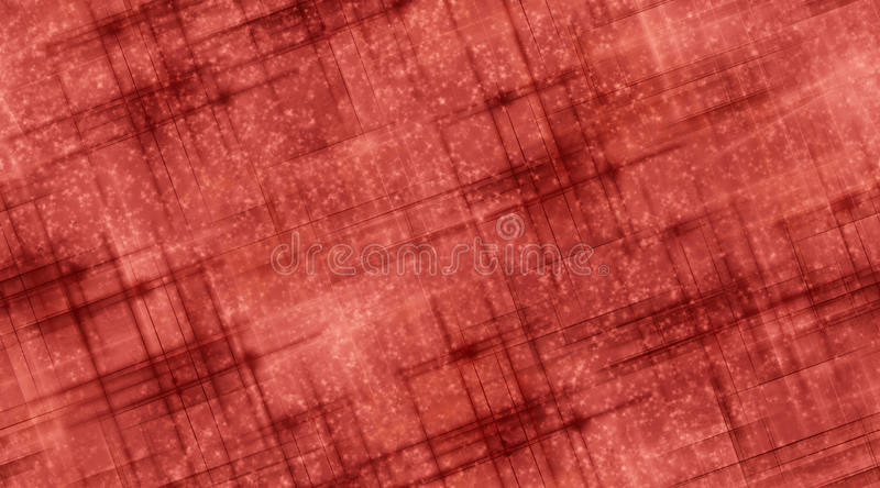 Red Lines and Stars. Light and dark red background with a scattering of snow or stars vector illustration