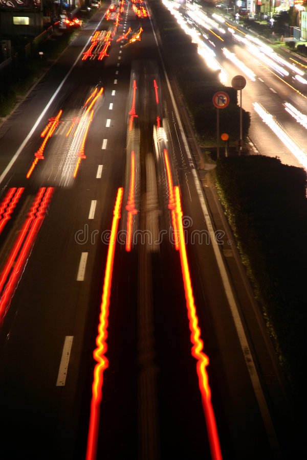 Download Red lines on street stock photo. Image of drive, fast, lanes - 344672