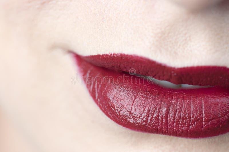 Download Red lips stock photo. Image of lips, kiss, woman, lipstick - 25509622