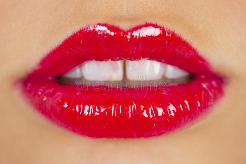 Download Red lipstick stock photo. Image of details, cosmetic - 10409932