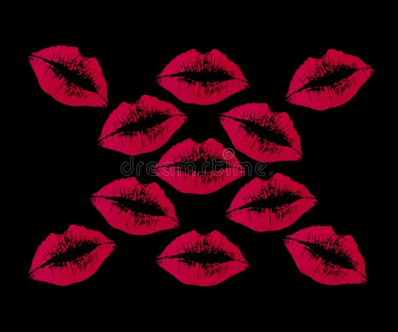 Lipstick Kisses Stock Images - Download 846 Royalty Free ...