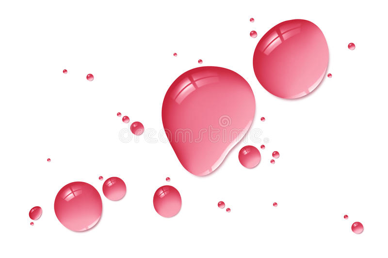 Download Red Liquid Drops Royalty Free Stock Image - Image: 33902486