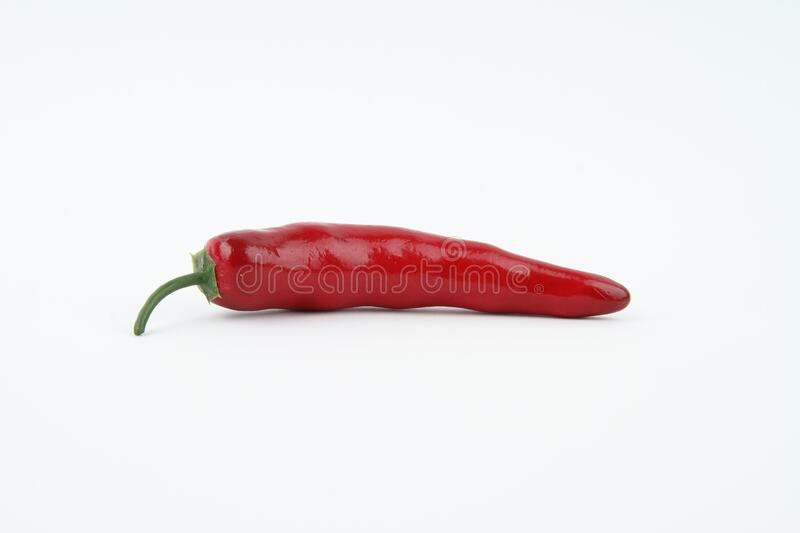 Red Long Chili stock photos
