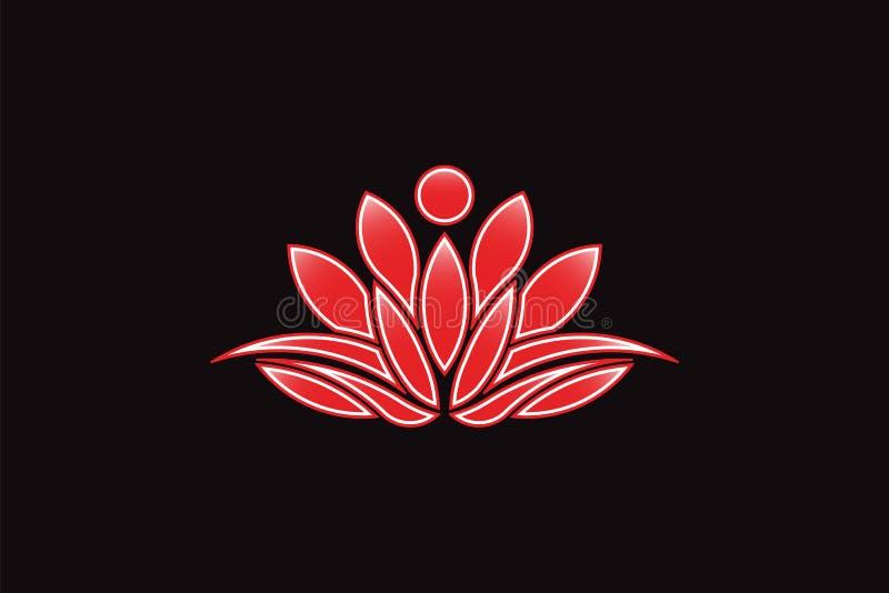 Red lotus flower logo vector icon stock vector illustration of download red lotus flower logo vector icon stock vector illustration of botanical beautiful mightylinksfo