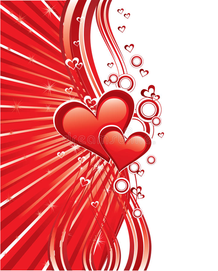 Download Red Love Greeting Cards Royalty Free Stock Photo - Image: 10606515