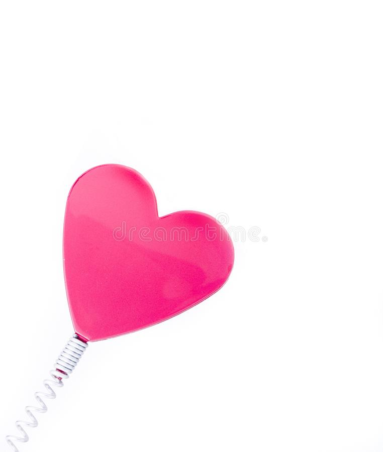 Red Love Heart stock photos