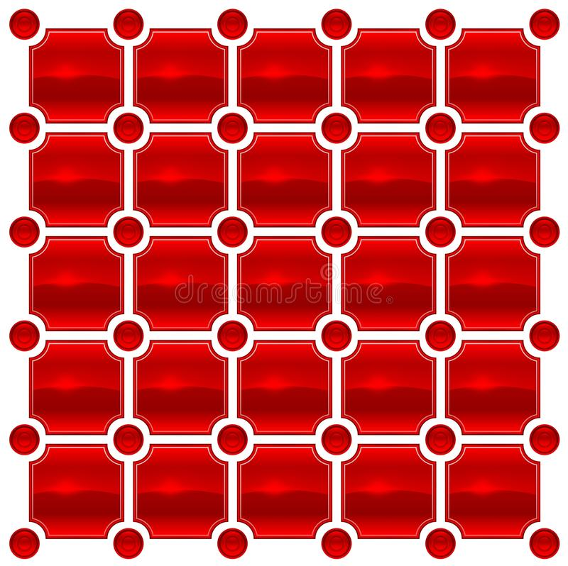 Free Red Love Tile Stock Photography - 17996702
