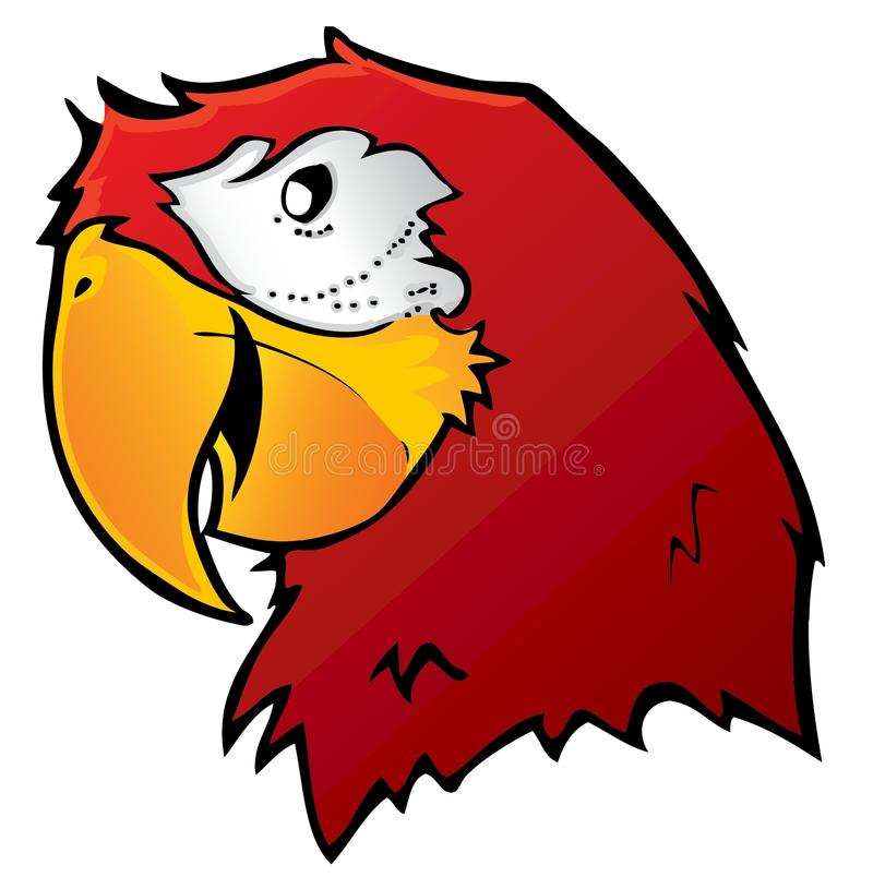 Download Red Macaw Parrot stock vector. Illustration of cartoon - 14146933
