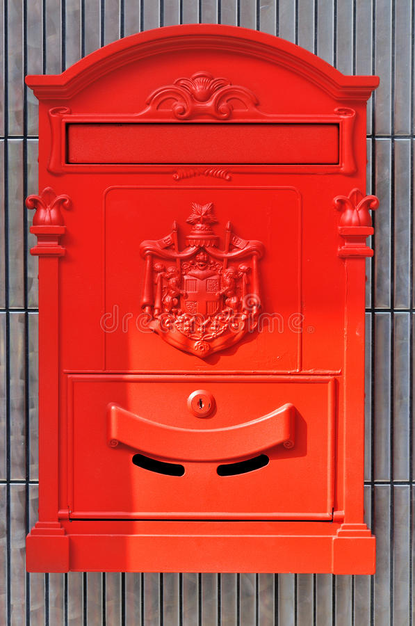 Download Red Mail Box Stock Photo - Image: 29480440