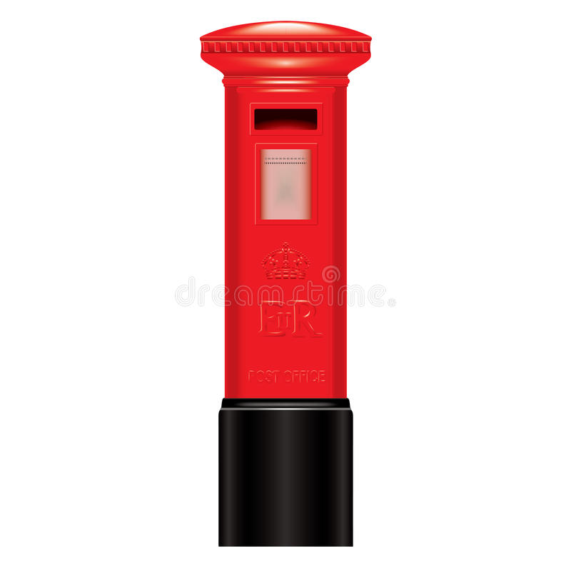 Free Red Mail Box-England-London-Icon-symbol Stock Images - 23440794