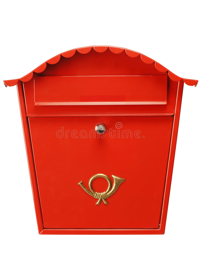 Red Mailbox XL Royalty Free Stock Photo
