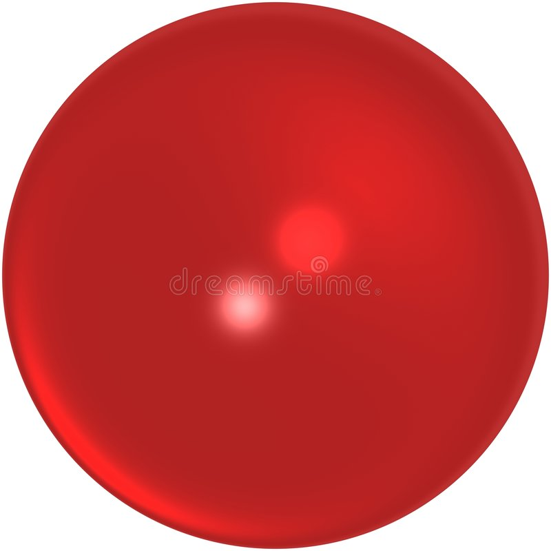 Red marble royalty free stock image