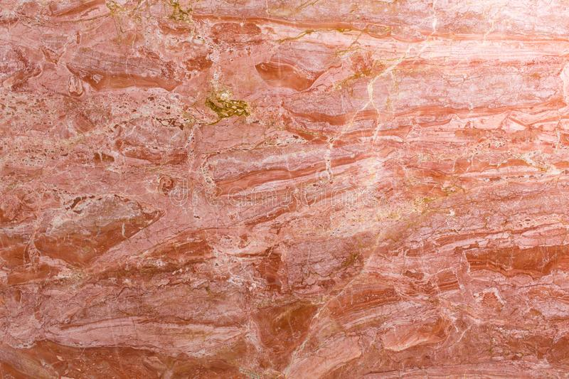 Red marble texture in natural pattern with high resolution for background and design art work. royalty free stock photography