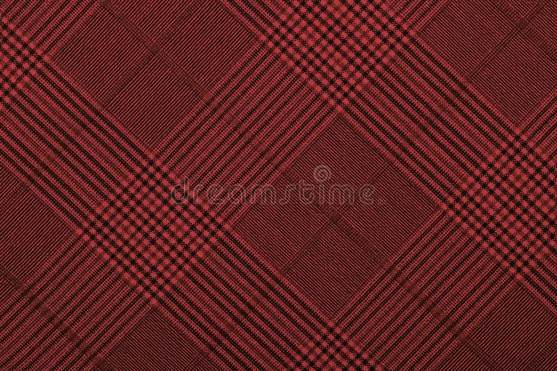 Red material into grid, a background royalty free stock photography