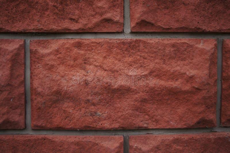red med den vita skarven Textur f?r r?d tegelsten Orange tegelstenar för terrakotta Bakgrund bakgrund royaltyfri illustrationer