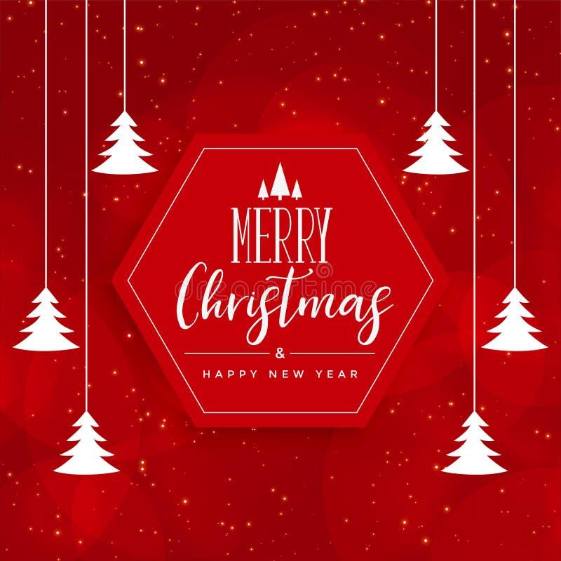 Sample Christmas Tree Decorating Ideas: Christmas Card Tree Decoration Stock Vector