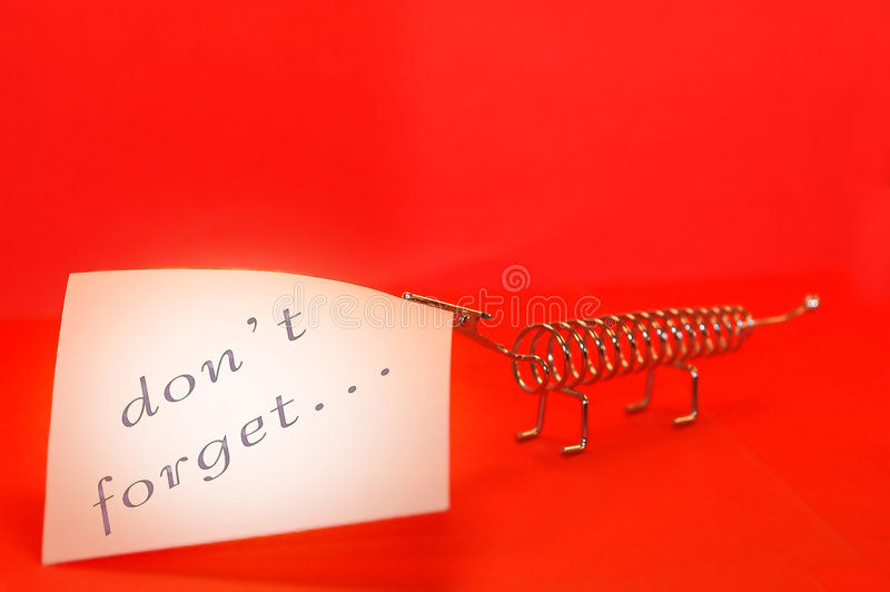 Red message stock images