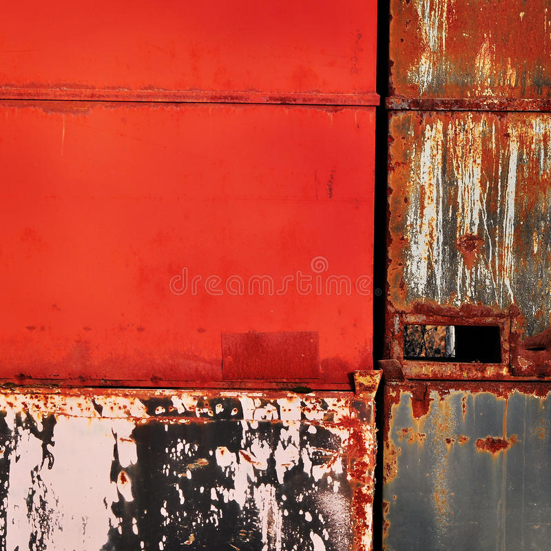 Red metallic background royalty free stock photo
