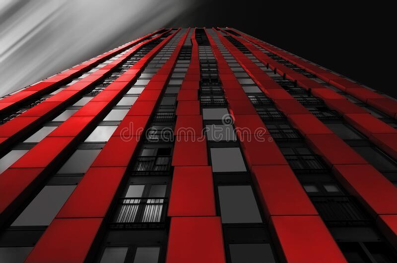 Red, Metropolis, Landmark, Building stock image