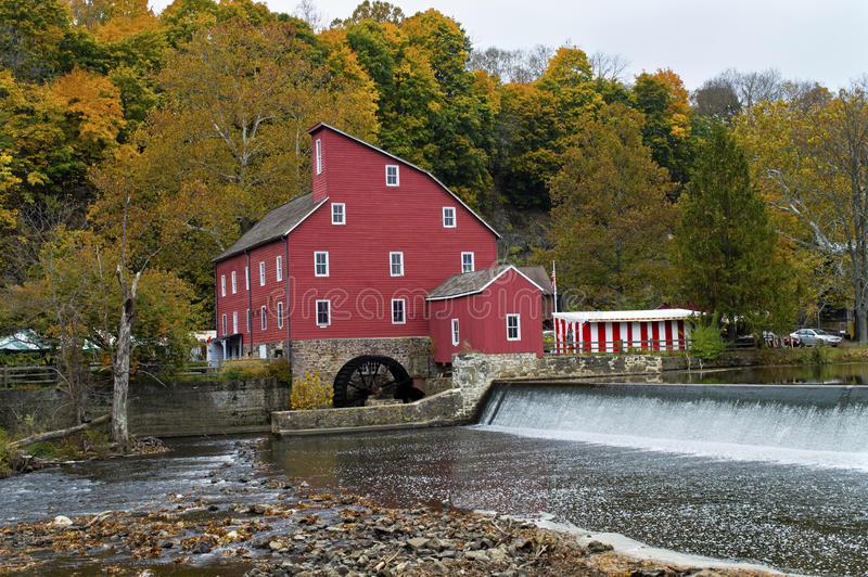 Red Mill Clinton Royalty Free Stock Images