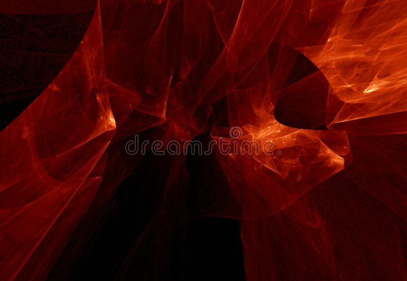 Red misty texture royalty free illustration