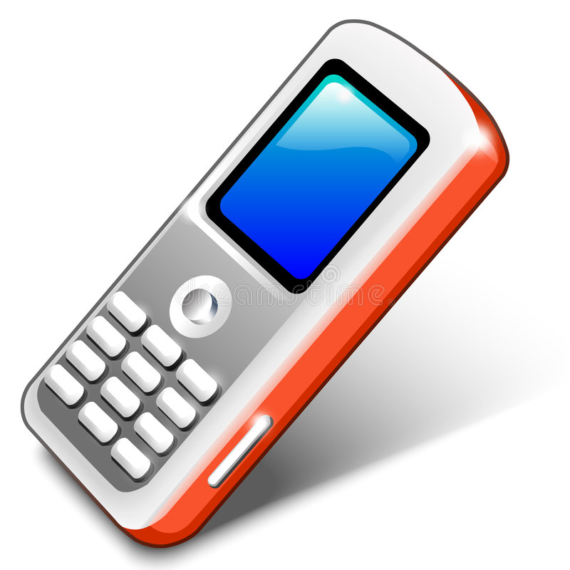 Red Mobile Telephone