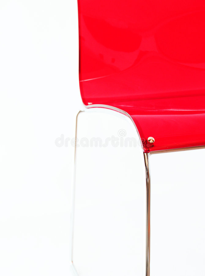 Free Red Modern Chair Stock Photo - 4384510