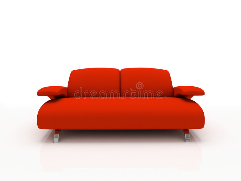 Download Red Modern Sofa Stock Images - Image: 2178154