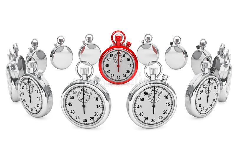 Download Red Modern Stopwatch Stock Photo - Image: 26534450
