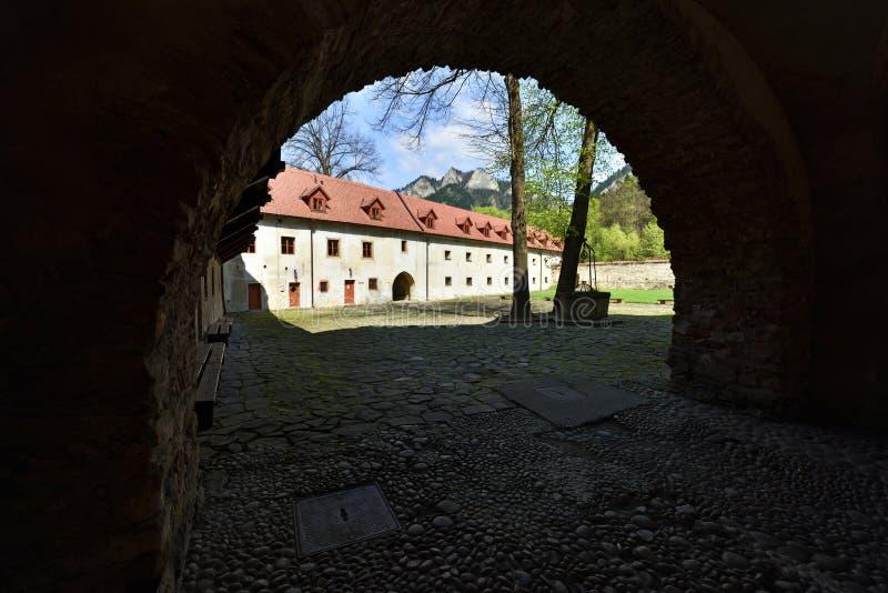 Red Monastery Museum, Spis region, Slovakia royalty free stock image