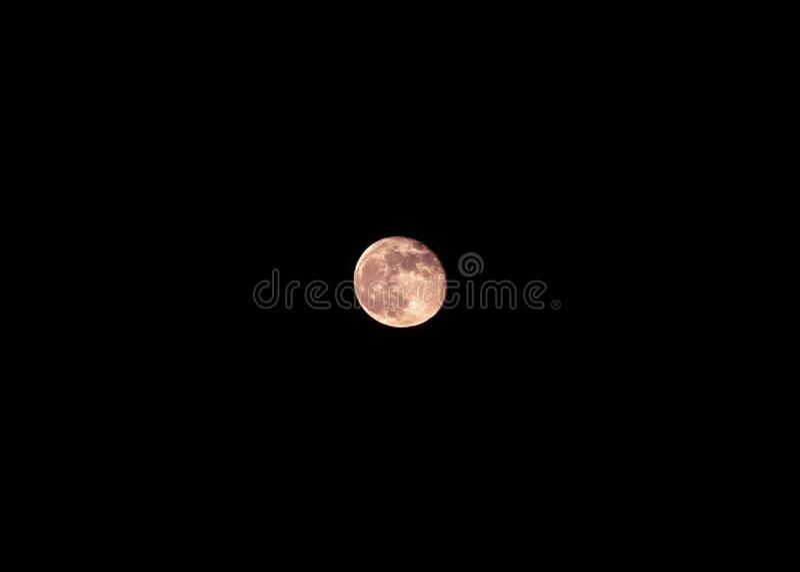 Red moon. Moon, dark, photography, nigfhr, night, nightshot stock images