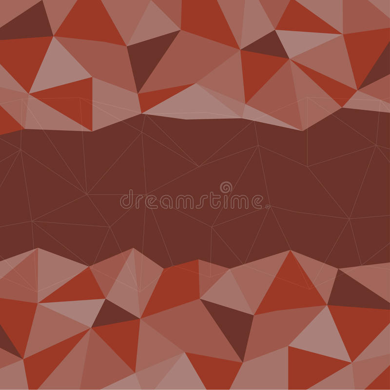 Red Mosaic Background, Creative Business Design Templates. Red Mosaic Background, Vector illustration, Creative Business Design Templates royalty free illustration