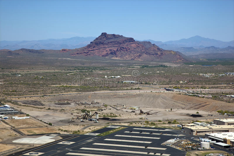 Download Red Mountain stock photo. Image of mesa, gravel, over - 25427726